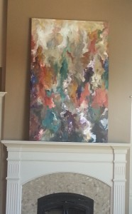 Abstract Custom Painting